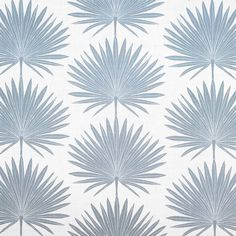 Clay McLaurin Studio Palmetto_Mineral Wallpaper Palm Wallpaper, Floral Pillows, Decorative Throw Pillows, Modern