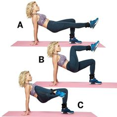 Follow these five moves to get your legs slim, toned, and super sexy. Here are Tracy Anderson's best moves for killer legs. | Health.com