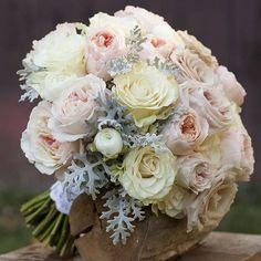 「Classic bridal bouquet #fangmannpartyof2 #nickbake #kenwoodcountryclub」
