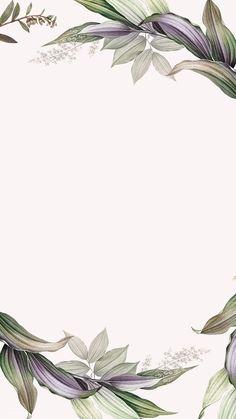 Tropical botanical leaves background illustration | premium image by rawpixel.com / Kappy Kappy