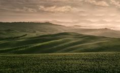 The Val d'Orcia and its fog   da famasse