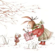 Nieuwjaarsbrief kleuters Uitgeverij Ikko illustratie An Melis