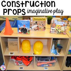 How to set up the blocks center in your early childhood classroom (with ideas, tips, and book list) plus block center freebies. Measuring tools are my favorite!