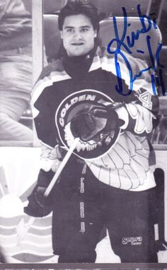 Salt Lake Golden Eagles goaltenders | Kimbi Daniels Salt Lake Golden Eagles Signed Postcard | eBay