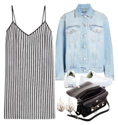 """""""Untitled #11003"""" by katgorostiza ❤ liked on Polyvore featuring Alexander McQueen, Marco de Vincenzo, Converse, Proenza Schouler and Ring of Fire"""