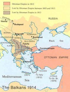 The Balkans 1914: