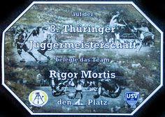 Urkunde 8. Thueringer Meisterschaft 2015