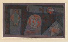 +++ Paul Klee, Tears of blood, 1923 ...