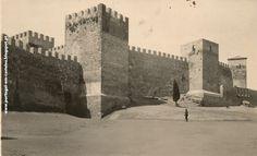 LISBOA Castelo de São Jorge anos 1940 - PORTUGAL em Castelos