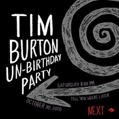 Tim Burton party