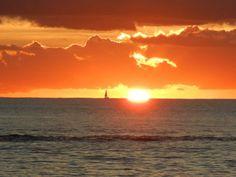 Beautiful St Lucia Sunset. At St James Club Morgan Bay.