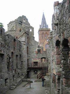 Bishop's Palace in Kirkwall, Scotland
