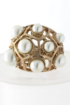 #The Shopping Bag         #ring                     #Pearl #Dome #Ring        Pearl Dome Ring                                     http://www.seapai.com/product.aspx?PID=763951