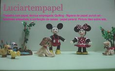This is the photo advertising Luciartempapel/blogspot.com/  with darling little 3d figures.