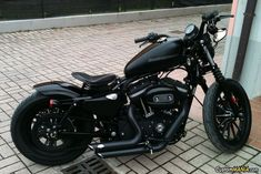 Harley Davidson Sportster XL883N Iron CustomMANIA.com #harleydavidsoncustommotorcyclesiron883