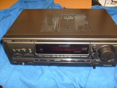 TECHNICS AV CONTROL STEREO RECEIVER SA-EX510 - TESTED #Technics auction ends Feb. 3, 1:00pm probably Eastern time