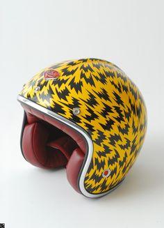 Ruby Helmet collaboration with Eley Kishimoto