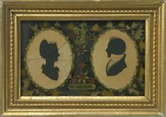 Antique Silhouettes - Peggy McClard Antiques