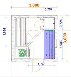 Баня Компакт 3х3 (Вариант 2) |