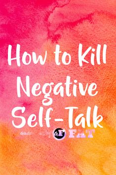 How to Kill Negative
