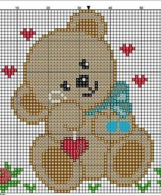 Brilliant Cross Stitch Embroidery Tips Ideas. Mesmerizing Cross Stitch Embroidery Tips Ideas. Pixel Crochet Blanket, Tapestry Crochet, Baby Blanket Crochet, Crochet Baby, Cross Stitch Baby, Cross Stitch Animals, Cross Stitch Designs, Cross Stitch Patterns, Cross Stitching