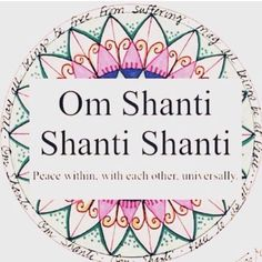 Om Shanti....~*NSpice