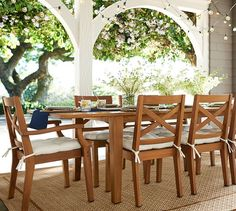 Shop Pottery Barn for expertly crafted outdoor furniture sets. Find patio furniture sets including outdoor chairs, dining tables and more, perfect for any style. Resin Patio Furniture, Patio Furniture Cushions, Patio Furniture Covers, Backyard Furniture, Furniture Sale, Outdoor Furniture Sets, Clearance Furniture, Discount Furniture, Conservatory Furniture