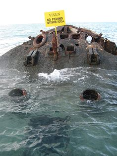A shipwreck that you can snorkel through in Bermuda. Pin provided by Elbow Beach Cycles http://www.elbowbeachcycles.com