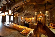 My dream kitchen. Maybe I would like to cook more?? Or at least drink more coffee sitting in it.