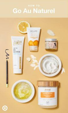 These naturals make it easy to clean up your beauty routine. Swap out a few of your current go-tos with: detoxifying Seaweed Bath Co. Purifying Gel Cleanser; ecofriendly & exfoliating Raw Sugar Raw Coconut & Mango Body Scrub; extract-packed Acure Organics Day Cream; gentle & effective Meow Meow Tweet Deodorant; and super-long-wear Pixi Endless Silky Eye Pen.