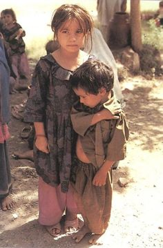 In every War lives are lost and families are torn apart. Peace is the answer. (Afghan children)