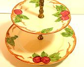 Franciscan Apple Two Tier Serving Dish