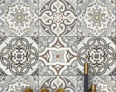 Bristol Kitchen Bathroom Backsplash Tile Wall Stair Floor | Etsy Peel N Stick Backsplash, Peel And Stick Tile, Stick On Tiles, Backsplash Tile, Tile Decals, Wall Tiles, Bathroom Splashback, Flooring For Stairs, Floor Decal