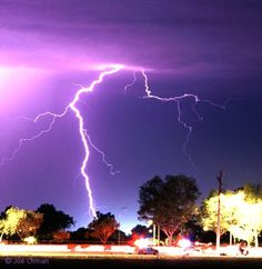Lighting Storm. Scary but beautiful mother nature at her best!