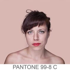 Humanae: Angélica Dass Travels The World To Capture Every Skin Tone In Pantone Style #inspiration #photography
