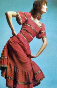 Missoni, Photo by Barry Lategan Vogie Italia 1971