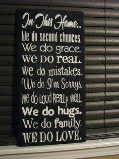 In this house sign by Taylorsboutiquesigns on Etsy, $30.00