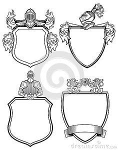 Knight shields