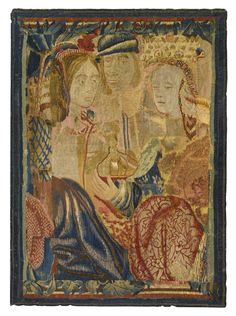 tapestrytextile ||| sotheby's n08952lot6mh7yfr Textile Tapestry, Blue Tapestry, Medieval Tapestry, Drawing Projects, Old Master, 16th Century, Traditional Art, Art History, Fiber Art