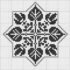 Octogonal 06 | Free chart for cross-stitch, filet crochet | Chart for pattern - Gráfico