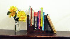 Display book shelf.  Made by scrap woods.