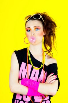 80s Fashion For Women Neon Colors neon colors
