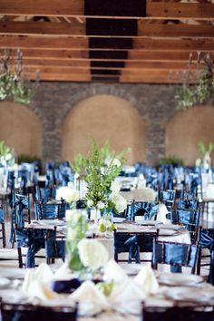 Blue And White Theme Wedding
