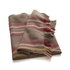 Alpaca Stripes Throw in Clearance Decor & Accessories | Crate and Barrel