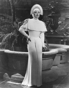 Joan Crawford in Gilbert Adrian Gown. ice follies