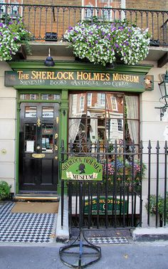 The Sherlock Holmes Museum, London. I must get round to visiting this.