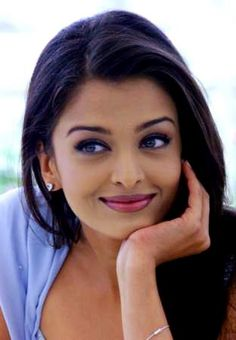 Aishwarya Rai. She's a super-close second to Monica Bellucci for most beautiful woman in the world.