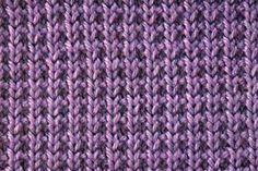 Stitch Pattern of the Week: Broken Rib Stitch Purl Avenue