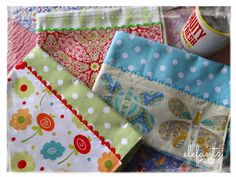 Jenny of ELEFANTZ: Tutorial: sweet kitchen towels...