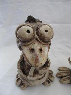 """Gartendekoration - Gartenkobold """"Junior"""" frostfest - ein Designerstück von AS-Keramik bei DaWanda"""